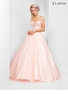 Romantic Pink Ball Gown 3504