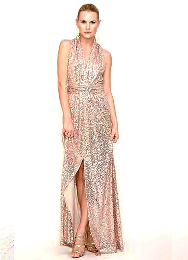 8f4304237a6 Rose Gold Badgley Mischka Gown 0348A Rose Gold Badgley Mischka Gown 0348A