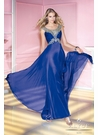 Royal Blue A-line Prom Gown 6181
