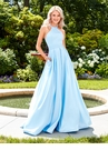 Satin Ball Gown 3489 | 4 Colors!