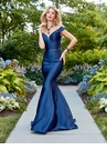 Satin Off The Shoulder Mermaid Gown 3441 | 2 Colors!