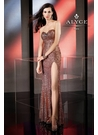 Rose Gold Sequin Alyce Prom Dress 35545