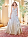 Sequin Ombre Ball Gown 3589 | 2 Colors!