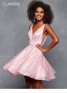 Sequined Homecoming Dress 3627| 3 colors!