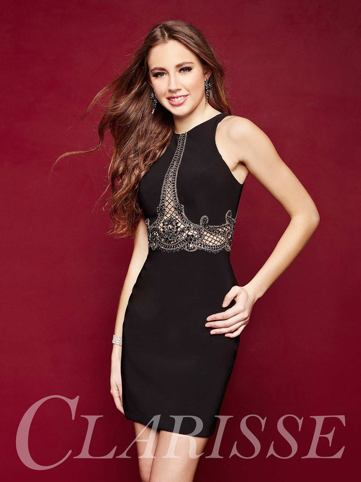 Clarisse Homecoming Dress 3338 Promgirl