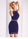Sheer Cut Out Homecoming Dress S3046