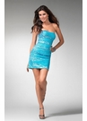 Short Sequin Cocktail Dress 1538