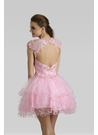 Short Pink Party Dress 2332