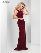 Simple Open Back Prom Dress 3459 | 4 Colors!