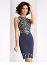 Sophisticated Beaded Cocktail Dress S3075