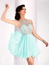 Sparkling Chiffon Short Formal Dress S3068
