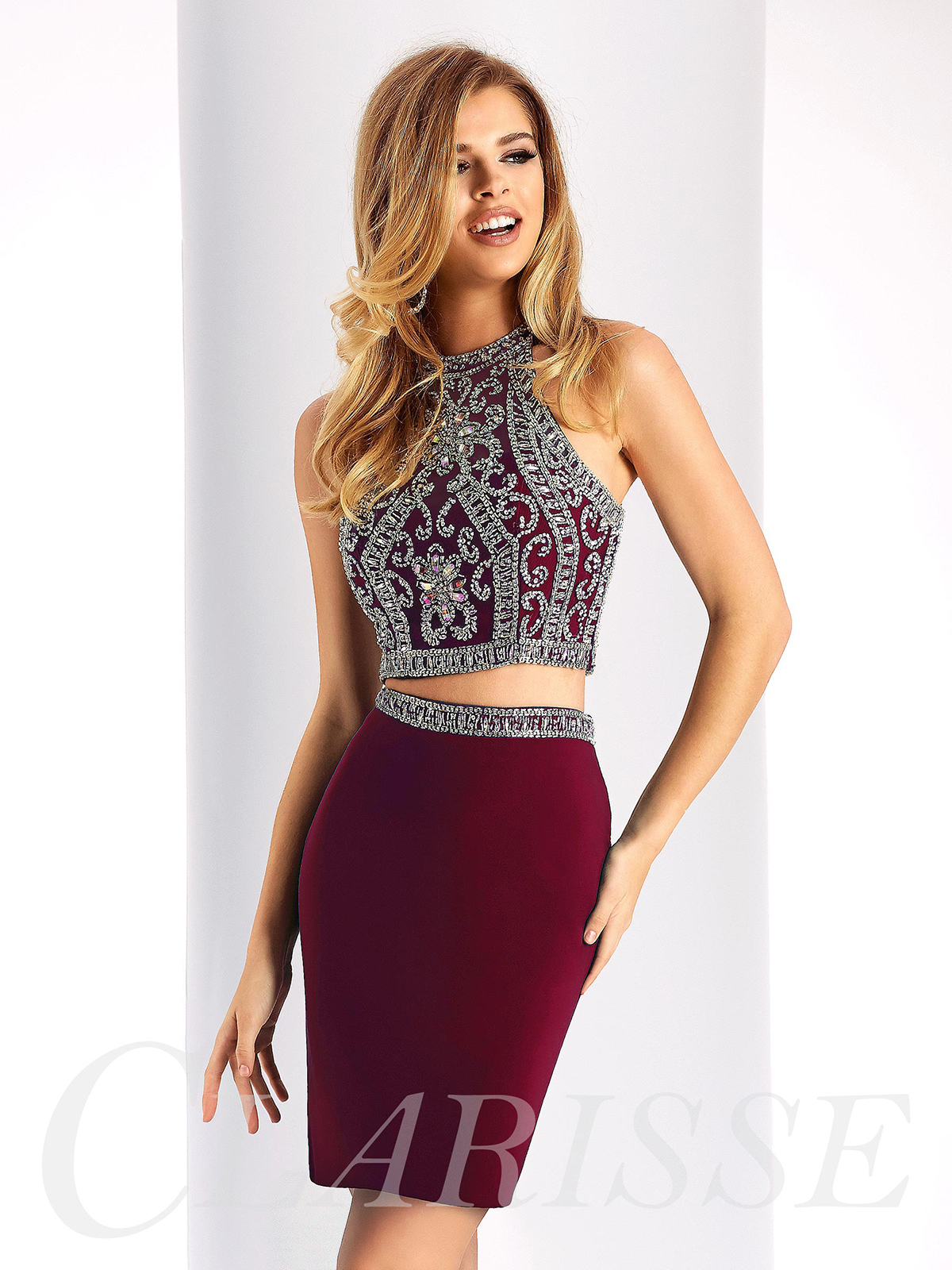 bf36329685d Clarisse Homecoming Dress S3006