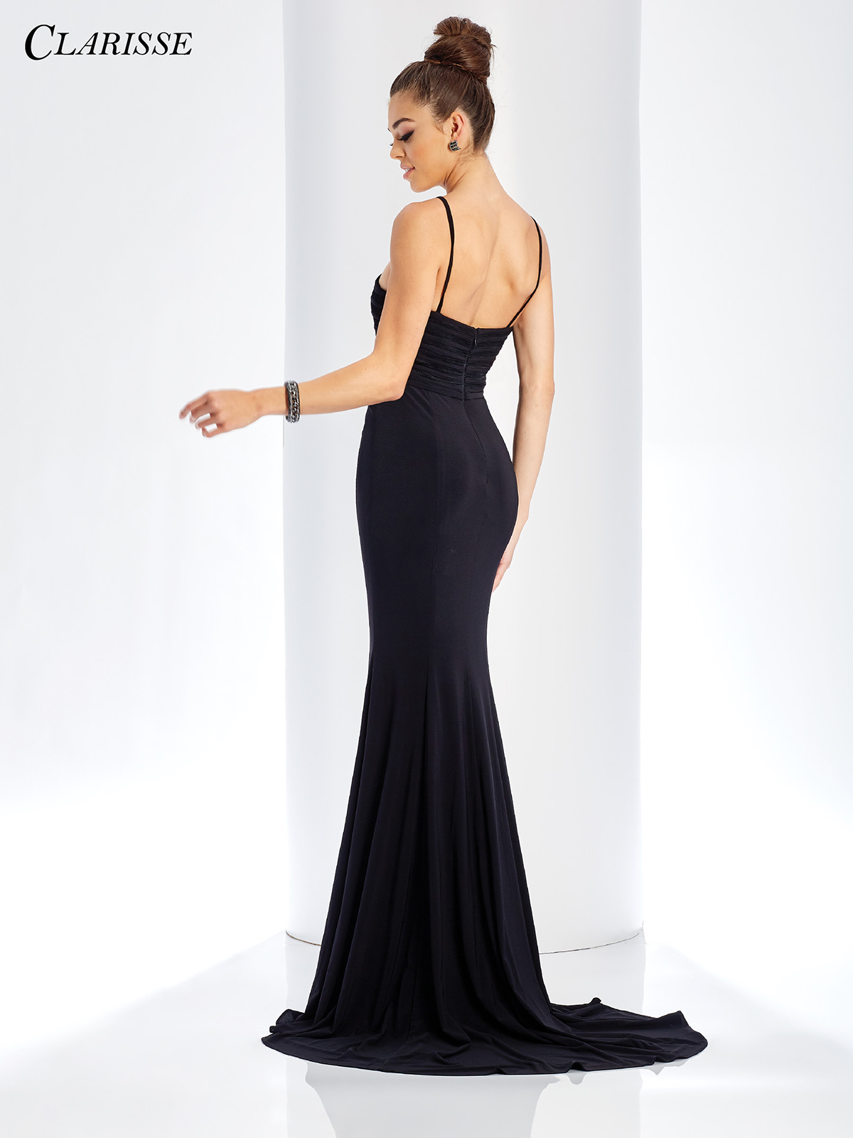 Long Fitted Black Dress