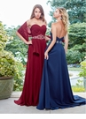 Strapless A-line Evening Gown 3523 | 4 Colors!