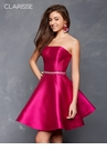 Strapless A-line Homecoming Dress 3633 | 2 Colors!