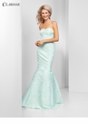 Strapless Brocade Mermaid Prom Dress 3415 | 3 Colors!