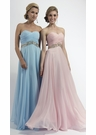 Strapless A-line Prom Dress 2401