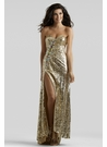 Strapless Sequin Prom Gown 2396- More Colors Available!
