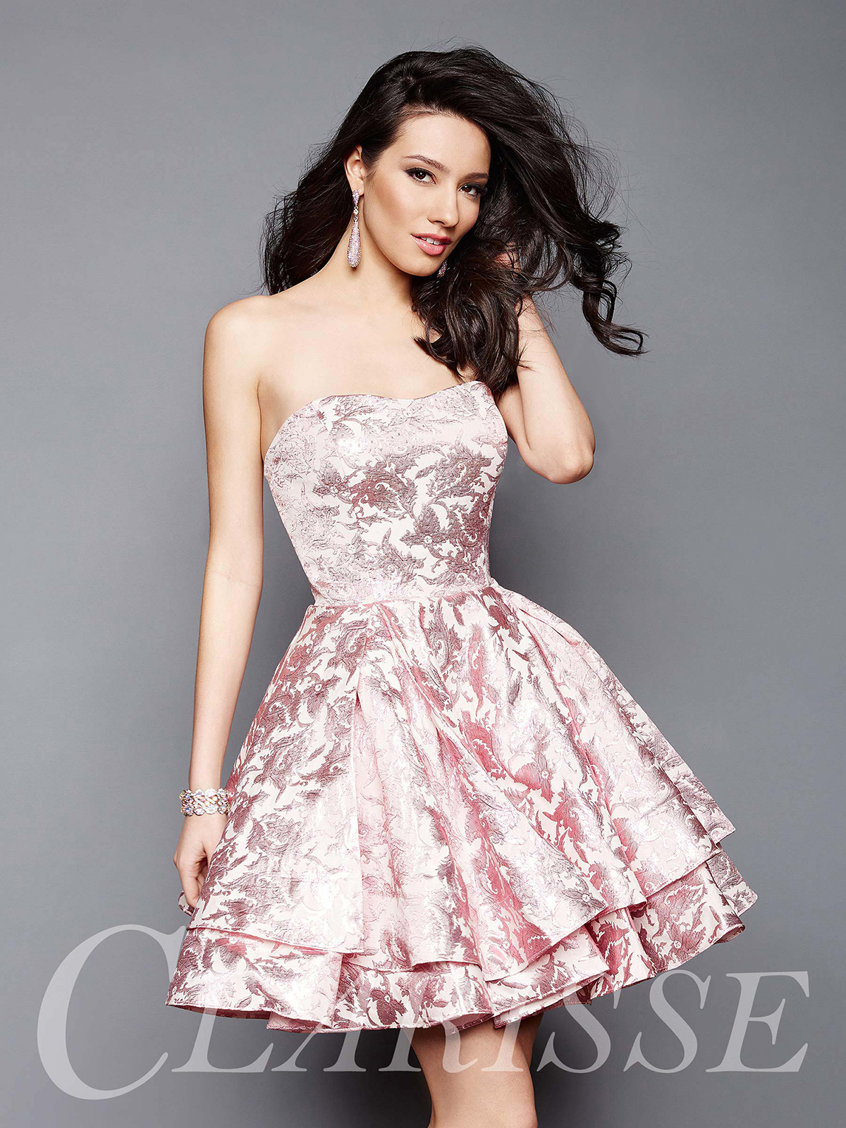 Clarisse Homecoming Dress 3310 | Promgirl.net