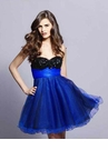Strapless Short Party Dress 9037
