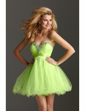 38a0364c66 2013 Clarisse dress 2213 · Strapless Lime Green Homecoming ...