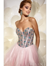 2012 Terani couture prom dress 677