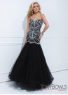 Tony Bowls Black Gown 114746