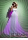 Tony Bowls White Prom Dress 112517