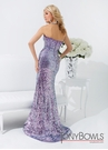 Tony Bowls Purple Gown 114506