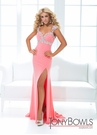 Tony Bowls Pastel Sweetheart Gown 114743