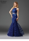 Two Piece Sequin Mermaid Prom Dress 4928