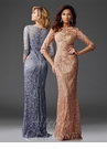Unique Evening Gown in Three Colors M6424