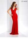 V-Neck Long Fitted Prom Dress 3527 | 3 Colors!