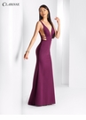 V-Neck Long Prom Dress 3404 | 2 Colors!