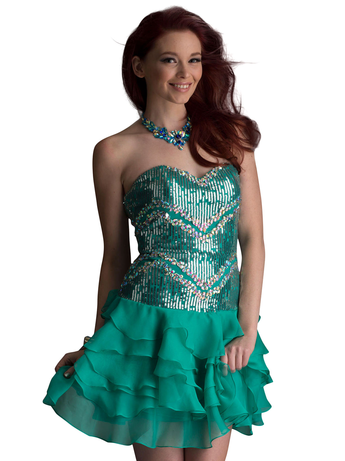 Homecoming Dress Sweetheart 9199 | Promgirl.net