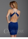 Zizi Royal Blue Cutout Homecoming Dress 352