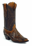 Black Jack Women's Handtooled Charlie Stitch Custom Boots HT-186