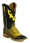 Men's Black Jack Cesar Inlay Custom Boots 8661