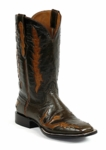 Men's Black Jack Jerry Inlay Custom Boots 8634