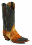 Men's Black Jack Locust Cord Lamb Custom Boots 8660