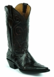 Men's Black Jack Mariana Cording Custom Boots 8658