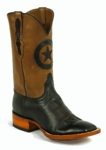 Men's Black Jack Ranch Hand Burnished Peanut Custom Boots 449