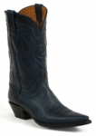 Men's Black Jack Swirl Cord Custom Boots 8649