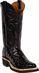 Mens Black Jack Boots Black Cherry Full Quill Ostrich Custom Boots 223