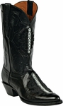 Mens Black Jack Boots Black Multi-Spine Stingray Custom Boots 313