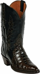 Mens Black Jack Boots Brown Caiman Flank Triad Custom Boots 1414
