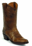 Mens Black Jack Boots Burnished Peanut Ranch Hand Custom Boots 405BP