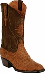 Mens Black Jack Boots Cognac Sueded Caiman Crocodile Belly Custom Boots 243