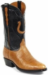 Mens Black Jack Boots Habana Shoulder Bullhide Leather Custom Boots 417