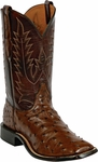 Mens Black Jack Boots Kango Tobacco Full Quill Ostrich Custom Boots 232